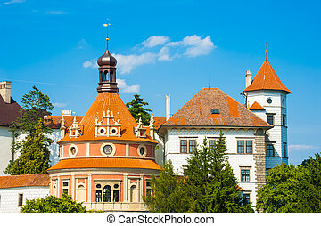Jindrichuv Hradec - Beautiful renaissance era castle with...