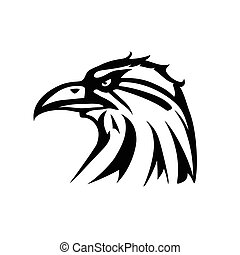 Eagle tattoo - This is a vector illustration of eagle tattoo