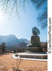 Buddha in the Sinheungsa Temple - Buddha in the Sinheungsa...