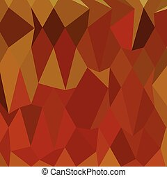 Pastel Orioles Orange Abstract Low Polygon Background - Low...