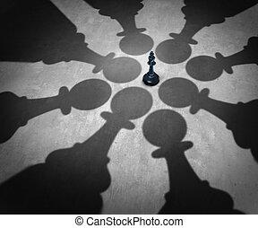 Winning Together - Winning together business team symbol...