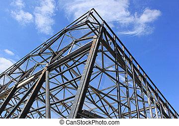 estrutural, aço,