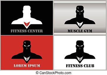 Elegant Muscular Man icon