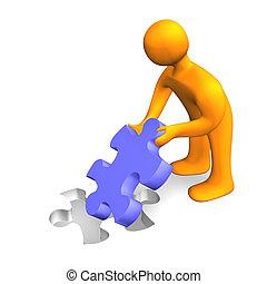 Puzzle Person 3D