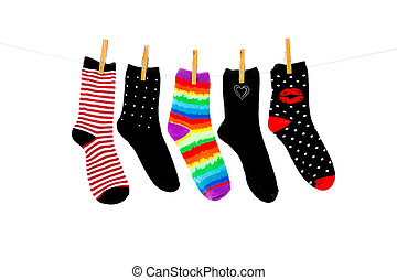 More Orphan Socks - Odd socks whose mates have been lost,...