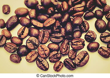 The coffee beans roasted to perfection - Coffee beans that...