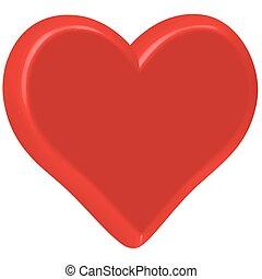 Valentine heart for various design