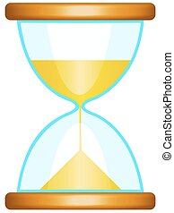 Sand glass icon for various design