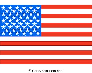 USA Flag - Flag of the United States of America