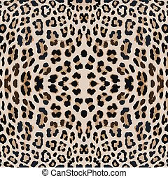 leopard print pattern skin. Repeat animal pattern.