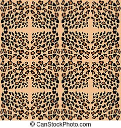 leopard print pattern skin. Repeat animal pattern.
