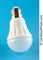 Innovative LED light lamp isolated - Modern LED for...