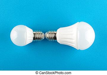 LED lighting equipment isolated on - Modern LED for...