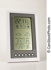 Meteo station close up - Home meteorological and weather...