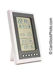 Weather monitoring equipment isolat - Home meteorological...
