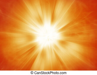 Hot solar burst background design