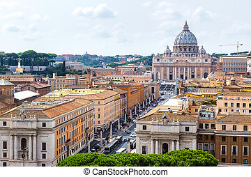 Basilica of St Peter in Vatican - Basilica of St Peter in a...