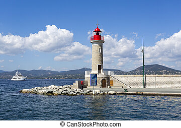 Lighthouse of St. Tropez - Lighthouse of the Port of St....