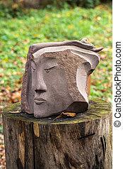 Hada -like, piedra, figuras, De, primaeval, Slawic, tales, ,...