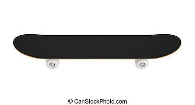 skateboard isolated on a white background.