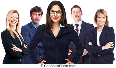 Business team - Business people team Success and education...