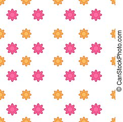 Seamless Texture with Flowers, Elegance Child Pattern