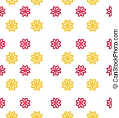 Seamless Texture with Flowers, Elegance Kid Pattern