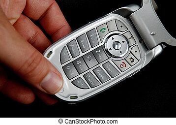 Cell phone pictures - stock pictures of the components for a...