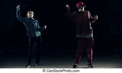 Hip Hop Moves - Dance combination performed by hip hop...