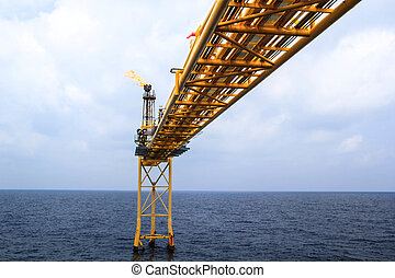 Offshore Industry oil and gas production petroleum pipe