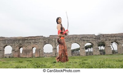 Arabian Warrior - Arabian Female Warrior