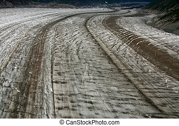 Mendenhall Glacier, Alaska, USA