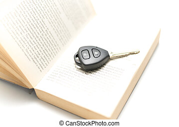 car key with book