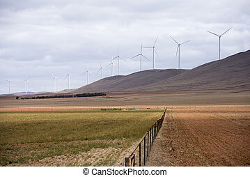 Wind Mill Plant Renewable Energy - Modern Wind Mills...