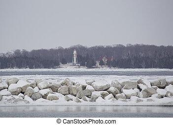 Washington Island Door County in Winter - Washington Island...