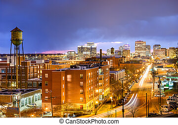 Richmond, Virginia Skyline - Richmond, Virginia, USA...