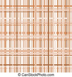 Plaid pattern in earth tones in a square format