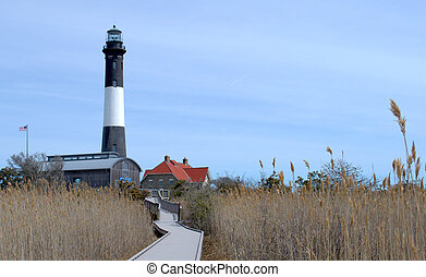 Fire Island Lighthouse, Long Island NY, USA