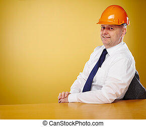 Engineer in office - Male engineer in office, he wearing a...