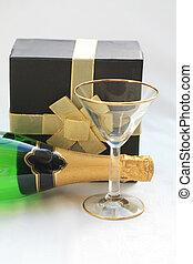 champanhe, PRESENTE