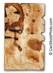 Grunge Paper Frame Background
