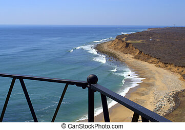 View from Montauk Lighthouse The Hamptons Long Island NY