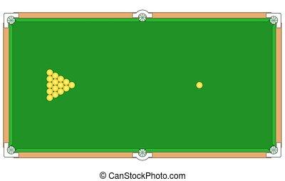 Billiard game for various design