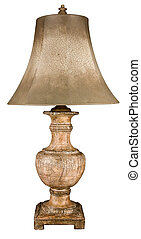Ceramic Table Lamp and Shade