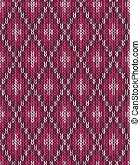 Textile Pattern. Seamless Knitwear
