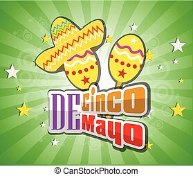 Cinco De Mayo design element