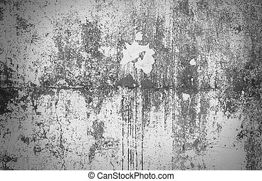 Concrete wall texture - Gray background of the concrete wall...