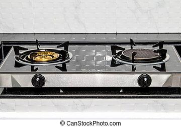 gas, stove, ,