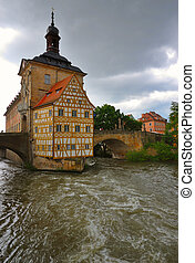 Bavarian House - Bavarian Half-Timbered House in Bamberg