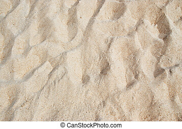 Beach Sand Texture - Texture of White Beach Sand